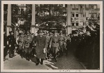 """On September 4th the Fuhrer opened the second Winter Relief Drive. In his speech he assured the English that they could be confident that """"We are coming!"""" For the last time he warned against the unscrupulous bombing of German workers' homes."""