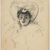 Miss May Yohe. A sketch by R. Ponsonby Staples