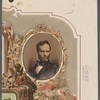 [Portrait of William T. Sherman on the upper right section of a print.]