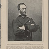 General William T. Sherman. The rank of General Sherman in the Vickburg campaign was that of a major-general of volunteers. He commanded the Fifteenth Army Corps.