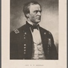 Gen. W.T. Sherman. From a portrait by D. Huntington, in the possession of Charles S. Smith.