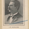 J.W. Showalter. Principal American contestants in The International Chess match of March 23 and 24, 1900.