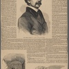 The Washington tragedy--from sketches by our special artist. Hon. Daniel E. Sickles, M.C.--From a photograph by Brady ; Daniel E. Sickles in his cell in Washington Jail ; Philip Barton Key, as he appeared in his coffin.
