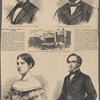 Judge Crawford.--(From a photograph by Brady) ; District attorney Ould.--(From a photograph by Brady) ; The City Hall at Washington in which the trial takes place ; Mrs. Sickles.--(From a photograph by Brady) ; The witness Butterworth.--(From a photograph by Brady).