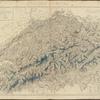 Carte générale de l'atlas Suisse.