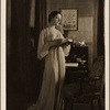 "[Lynn Fontanne in the original Broadway production of Noël Coward's ""Design for Living.""]"