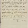 Solicitation letters, 1884-1886, n.d.