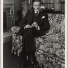 "[Clifton Webb in a scene from the original Broadway production of Noël Coward's ""Blithe Spirit.""]"