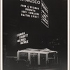 """[The exterior of the Morosco Theatre during the run of the original Broadway production of Noël Coward's """"Blithe Spirit.""""]"""