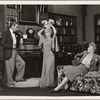 "[Clifton Webb, Haila Stoddard, and Peggy Wood in a scene from the original Broadway production of Noël Coward's ""Blithe Spirit.""]"