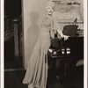 "[Haila Stoddard in a scene from the original Broadway production of Noël Coward's ""Blithe Spirit.""]"