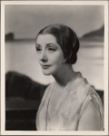 """Lynn Fontanne in the original Broadway production of Noël Coward's """"Point Valaine."""""""