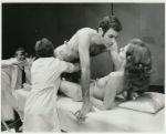Cast in scene from stage production Oh! Calcutta!, Eden Theatre
