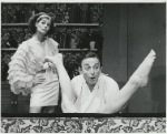 Maureen Byrnes and Bill Macy in the stage production Oh! Calcutta!, Eden Theatre