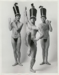 ichard Schmeer, Ronnie Britton, and Phillips Cross in publicity photograph for the stage production We'd Rather Switch.