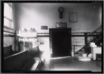 Public bath - interior view of changing room: Manhattan