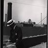 [Tenement House Dept inspector on rooftop: Manhattan]