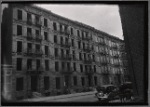 Row of vacant tenements: Manhattan