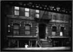Tenement, Scott's Barber Shop in basement: 334-336 W. 53rd St.-8th Av-9th Av, Manhattan