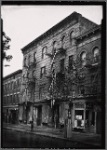 Unidentified storefronts and tenements: Manhattan