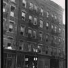 [Tenement s & storefronts; The Utopian Café on ground floor: 208 [street unknown], Manhattan]