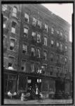 Tenement s & storefronts; The Utopian Café on ground floor: 208 [street unknown], Manhattan]