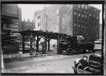 Tenements; demoliton site: Manhattan