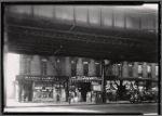 Storefronts under elevated train tracks: 1746-1752 Fulton St - East New York Av, Brooklyn