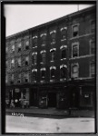Vacant tenement; Henry Gunther Orthopedist: 211 Manhattan Ave.-Maujer St., Brooklyn