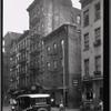 [Street view; The Rex Shoe Repair, Nick's Amity Candy: Amity Street - Hicks St.?, Brooklyn]