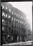 [West side tenements; ice