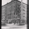 [Tenement with fire damage; Rex Pastry Shop: 1st Ave.- E. 112th St., Manhattan]