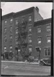 Tenements to let; Andrew Fleming Pattern Maker; children in street: Bergen St. - Smith St. -Boerum Pl, Brooklyn