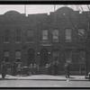 [New row houses with shops, residents: Saratoga Ave.-Riverdale Av-Livonia, Brooklyn]