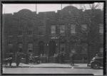 New row houses with shops, residents: Saratoga Ave.-Riverdale Av-Livonia, Brooklyn