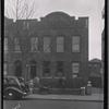 [New row houses; Edw A. Segal Lawyer; kids posing: Saratoga Ave.-Riverdale Av-Livonia, Brooklyn]