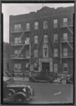 Apartment building with first floor shoe shop: Saratoga Ave.-Riverdale Av-Livonia, Brooklyn