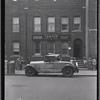 [Brick row house; Edward Larkin Lawyer offices on first floor: Saratoga Ave.-Riverdale Av-Livonia, Brooklyn]