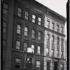 "[Tenement buildings; ""The Plaza"": E. 136th St.-Willow Av-Cyprus Av, Bronx]"