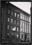 "Tenement buildings; ""The Plaza"": E. 136th St.-Willow Av-Cyprus Av, Bronx"