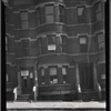 [Row houses; law office of Harry Wagner: 2120 [street unknown], Bronx?]