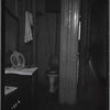 Interior view of dressing table and toilet