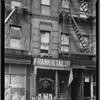 [Storefronts; Frank (Irving) the Tailor: 2813 [street unknown]]