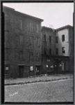 Vacant tenements and storefront: Brooklyn