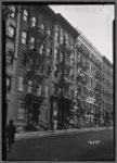 "Tenement row, ""Tuskegee Apartments"": 213 W. 62nd St.-AmsterdamAv-West End, Manhattan"
