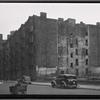 [Vacant tenement row; playground; United Motors Service: W. 64th St.-Amsterdam-West End, Manhattan]
