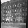 [Tenement row; Borden's Milk truck: St. Ann's Ave. - E. 150th St., Bronx]