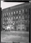 Tenement row; Borden's Milk truck: St. Ann's Ave. - E. 150th St., Bronx