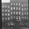 [Tenements & storefronts; Hamilton Fish Park Restaurant, Scher Glass: 135-139 Pitt St.-E. Houston-Stanton, Manhattan]