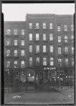 Tenements & storefronts; Hamilton Fish Park Restaurant, Scher Glass: 135-139 Pitt St.-E. Houston-Stanton, Manhattan